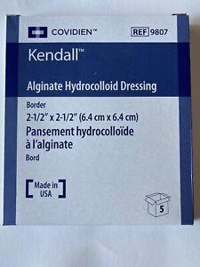 Covidien Kendall Alginate Hydrocolloid Dessing Box of 5  Ref #9807