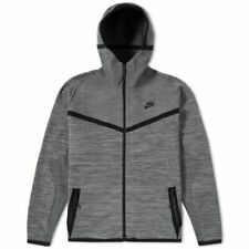 Nike Tech Knit Windrunner Cool Grey/Dark Grey/Black Jacket 728685 043 Men's $250