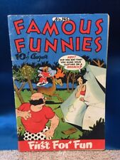 Famous Funnies #145 Eastern Color 1946 Golden Age Comic Book