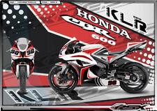 For 2007-2008 Honda CBR600RR F5 DECO RSX KLR Red Black Fairings Kit Bodywork