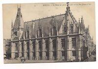 rouen le palais de justice façade sur la rue jeanne d'arc   76  seine maritime