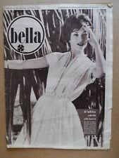 BELLA - Rivista moda n°31 1959 una grande sarta Jole Veneziani   [D39]