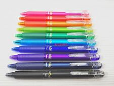 (Tracking no.) 10 Colours, Pilot FriXion Ball Knock Clicker 0.5mm Rollerball Pen