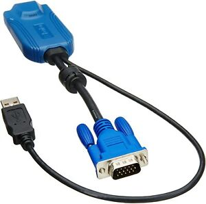 Raritan D2CIM-VUSB VGA USB KVM Switch Cable Adapter Virtual Media Dongle CIM