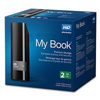 "Western Digital My Book 2TB 3.5"" Desktop Storage Hard Drive USB 3.0 (External)"