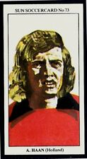 SUN-SOCCERCARDS-1979 #073-HOLLAND & ANDERLECHT-AJAX-ARIE HAAN