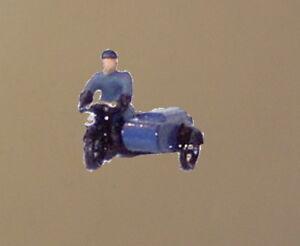 P&D Marsh N Gauge N Scale X78 RAC Motorcycle patrol painted