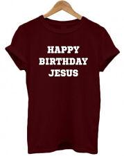 HAPPY BIRTHDAY JESUS, Christmas, Tumblr, Secret Santa gift present T Shirt, Top