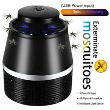 USB Mosquito Killer Lamp Insect Fly Bug Zapper Trap Pest LED Control UV LightIHS