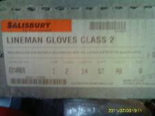 Salisbury Honeywell Lineman Gloves Class 2 Type 1 17000VAC Size 8 E214RB