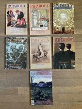 Parabola Magazine Lot 2000 2001 2002 Philosophy Religion Mythology