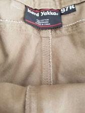 Cotton Blend Hard Yakka Pants for Men
