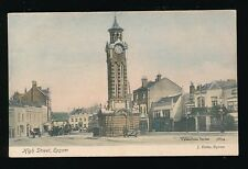 Surrey EPSOM High St Clock Tower Kings Head Used 1905 PPC by Valentine