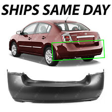 NEW Primered - Rear Bumper Cover Replacement for 2007-2012 Nissan Sentra 07-12