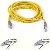 F3X126B02M Belkin RJ45 CAT 5e UTP Crossover Cable Yellow 2m