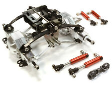 1/14 BILLET ALL TRACTOR REAR SUSPENSION WITH AXLES TRUCK TAMIYA C26321SILVER