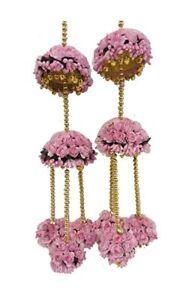 Flower Kaleeras Jewelry For Bridal haldi,mehndi ceremony lightweight jewels Gift
