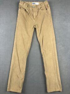 Old Navy Pants Youth 12 Karate Slim Corduroy Pants Adjustable Waist Khaki