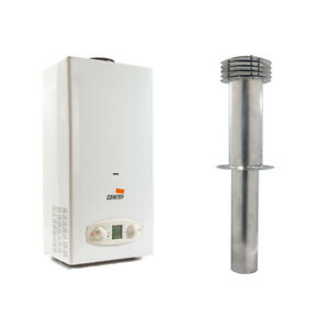 Static Caravan Cointra 6L LPG Water Heater *FLUE KIT* Morco D51 D61B/E Bosch