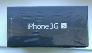 Apple iPhone 3GS - 8GB - Black (Unlocked)factory sealed pack collectible