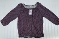 Michael Kors Shirt Top Blouse Floral Print Small NEW