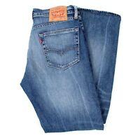 "LEVI'S 505 Slim Fit Blue men Jeans in Size 32 (inseam 32"")"