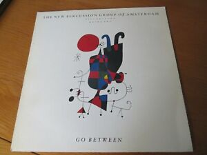 NEW PERCUSSION GROUP OF AMSTERDAM (BILL BRUFORD) - GO BETWEEN. 1987 UK LP