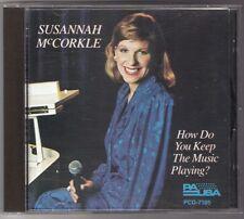 SUSANNAH McCORKLE How Do You Keep The Music Playing CD 1986 PAUSA PCD-7195 RARE