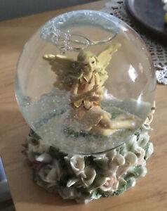 "Glass Fairy Glitter Globe 4"" Diameter"