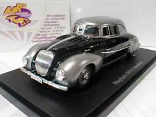 """Autocult 04008-Maybach sw35 electricidad línea año de fabricación 1935 """"plata-negro"""" 1:43"""