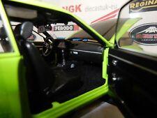 Sunstar 1:18 Opel Ascona B SR Signal Green/Black Bonnent 5386...New.......!!