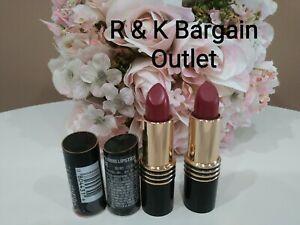 2  ~ Revlon Super Lustrous Creme Lipstick 43 / 620 Wine With Everything Damaged