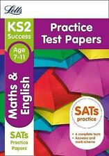 KS2 Maths and English SATs Practice Test Papers by Letts KS2 (Paperback, 2015)