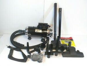 Metro OmniVac 4.0 HP 2 Speed Portable Vacuum Cleaner w/ Attachments TESTED
