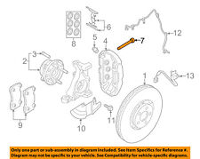 FORD OEM 15-18 Mustang Brake-Front-Caliper Bolt W717394S439