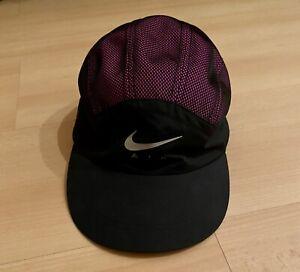 Supreme X Nike Cap Black Adjustable Nike Running Supreme
