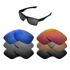 Walleva Replacement Lenses for Oakley TwoFace Sunglasses - Multiple Options