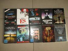 10 DVD Sammlung Stephen King Shining, Friedhof der Kuscheltiere, Es