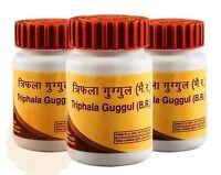 Divya Triphala Guggulu Guggul Gugul Herbal Ayurvedic Tablets Patanjali Ramdev