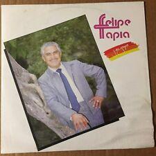 FELIPE TAPIA Y SU GRUPO SELF TITLED MEXICAN 1989 LP AUTOGRAPHED NORTEÑO