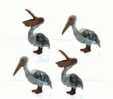 PELICANS....PELICANS.....PELICANS 4 Pack HO scale hard to find details