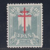 ESPAÑA (1942) NUEVO SIN FIJASELLOS MNH SPAIN - EDIFIL 959 (40 + 10 cts) LOTE 1