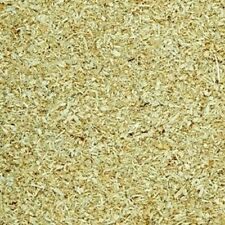 DRY SAWDUST BALE NOT WOOD SHAVINGS 125L ANIMAL PET BEDDING
