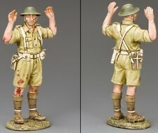 KING & COUNTRY WW2 JAPANESE NAVY JN039 BRITISH SURRENDERING SOLDIER MIB