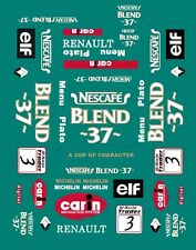 #3 NESCAFE BTCC Renault 1999 1/32nd Scale Slot Car Decals