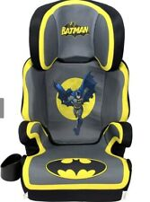 Kids Embrace DC Comics Batman High Positioning Back Toddler Booster Car Seat