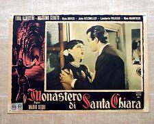 MONASTERO DI SANTA CHIARA Fotobusta Poster Edda Albertini Massimo Serato S20