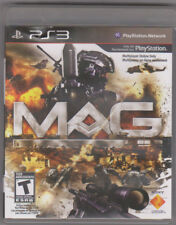 MAG (Sony PlayStation 3, 2010) Collectors Only Servers Down ~ Used Complete ~