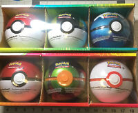 POKEMON Trading Card Game 6 Pokemon Balls  with 3 Booster Packs Each