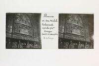 Florence Firenze Italia Italia Targa per lente Stereo ca positiva 1905